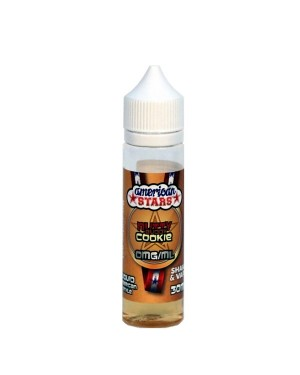 Mix and Vape American Stars Nutty Buddy Cookie